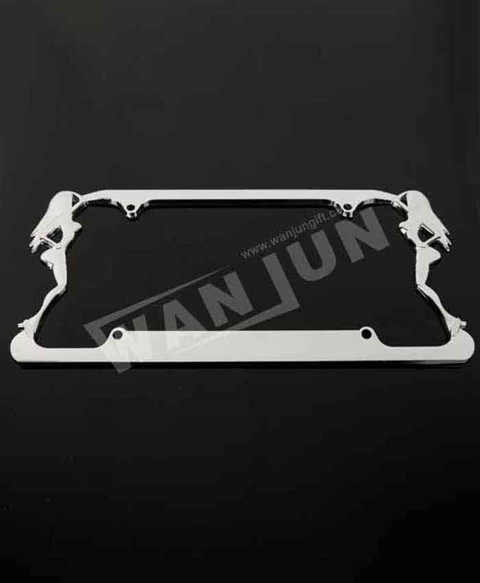 custom metal girly license plate frames personalized - Professional ...