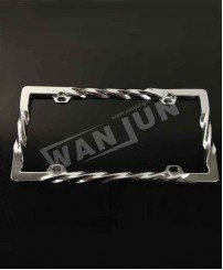 Metal 3D design custom license plate holder