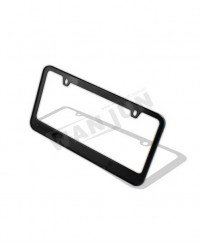 Mold-free custom painted license plate frame