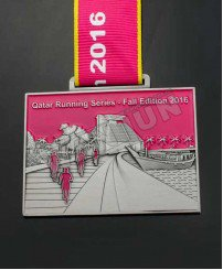 3D metal usa running medal of honer