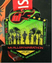 Colorful paint printing stickers with epoxy marathon medal