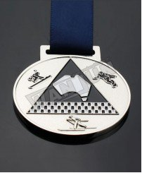 Customized Skate games Ski race metal sport medal
