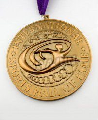 International hall of fame powerful sports medal