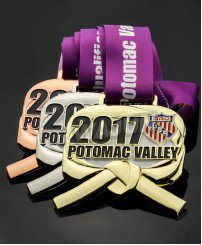 2017 custom 3d plating gold silver bronze ribbon sport medal