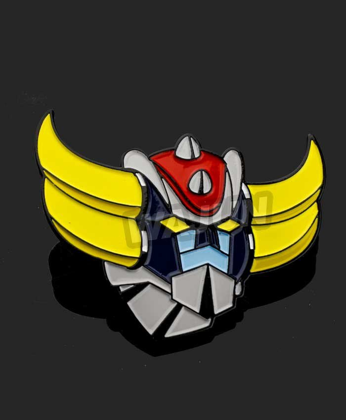 Grendizer movie marvelous metal lapel pin badge with custom design