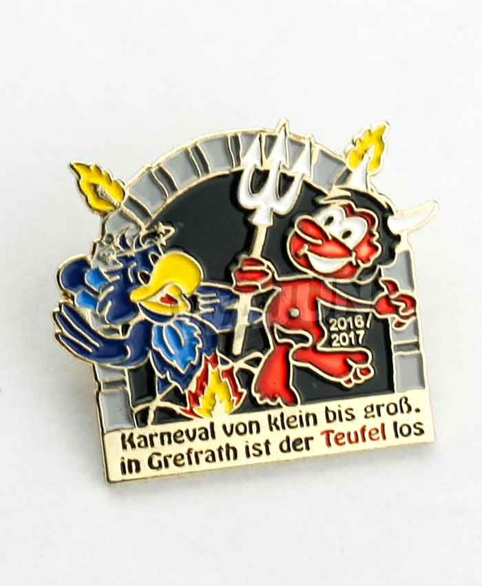 Cheapest custom lapel pins no minimum made in china