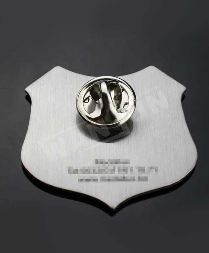 Aluminium printing characters and events commemorate pin badge