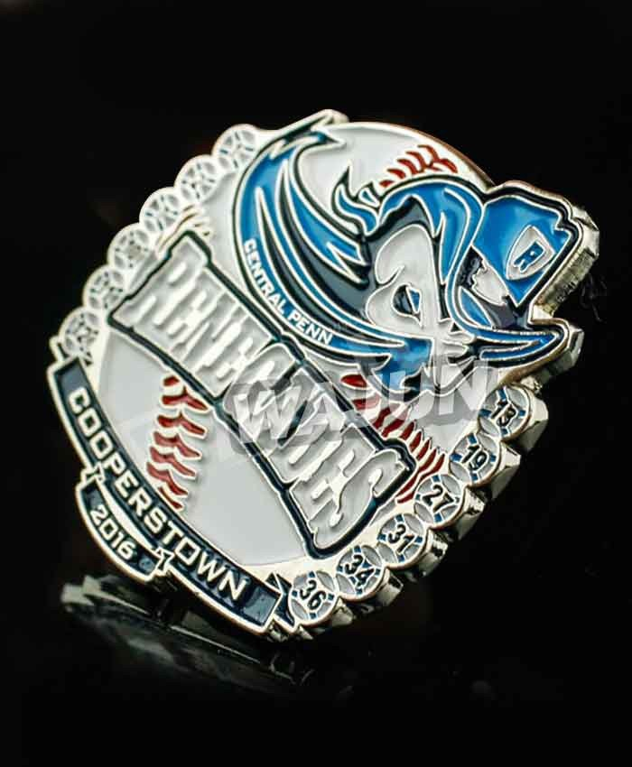 Central penn renegades cheap metal baseball badge suppliers professional