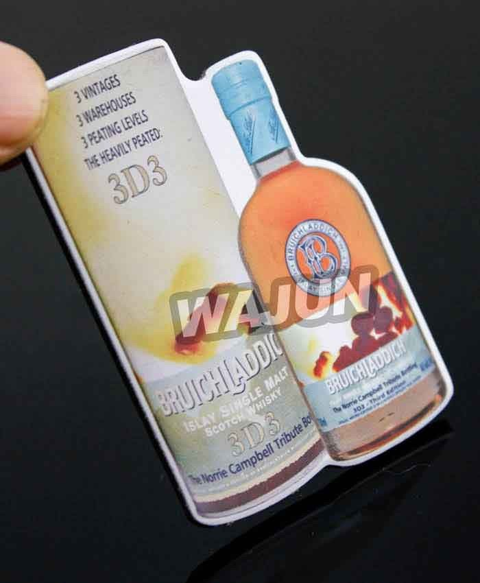 Aluminum sheet CMYK printing with epoxy badge promotional