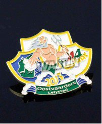 Colorful paint soft enamel metal combat badge