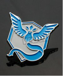 Colorful Wings metal badge for sale