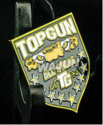 Custom soft enamel metal badge