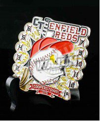 Enfield reds cooperstown baseball badge New design
