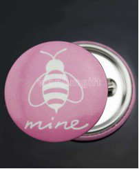 Funny cute blank cutom tin button badges for sale