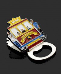 Multifunction fridge magnet bottle opener metal soft enamel post-it clip souvenir