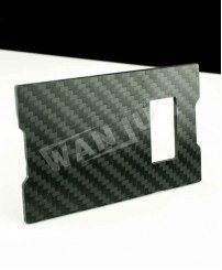 carbon fiber business card beer bottle opener