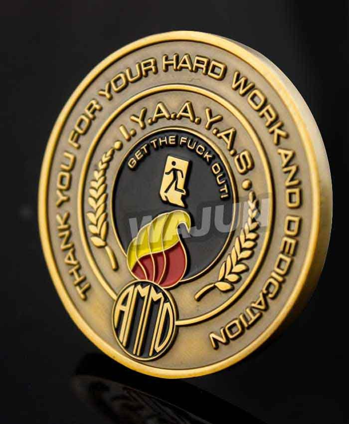 Factory Direct Custom Souvenir Challenge Coins Cheap