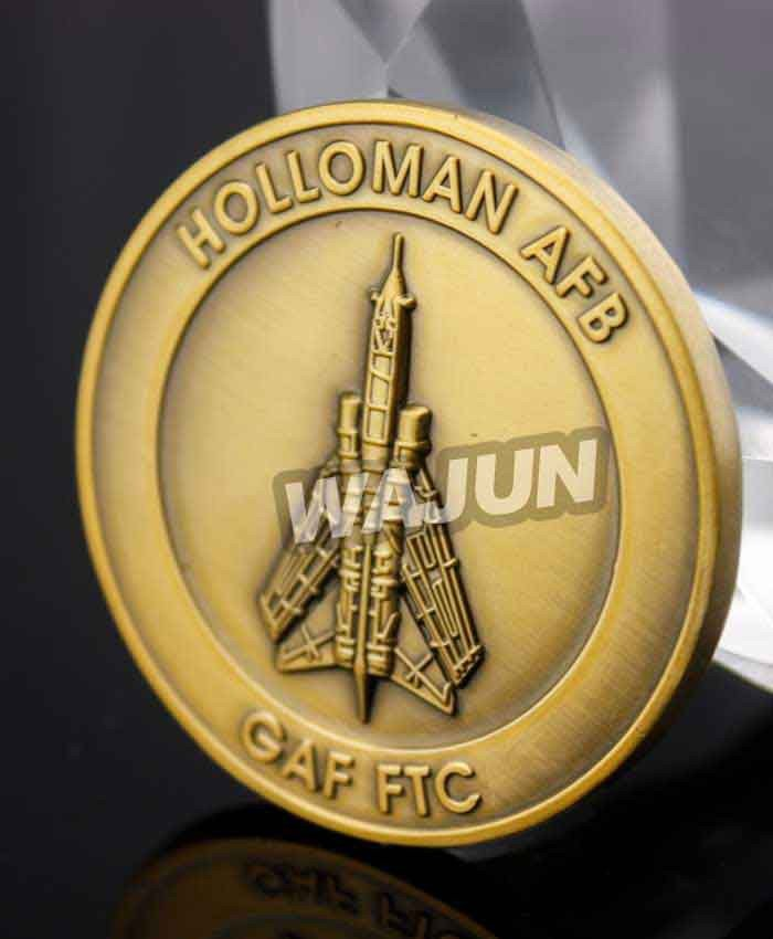 Air force training squadron gold challenge coins