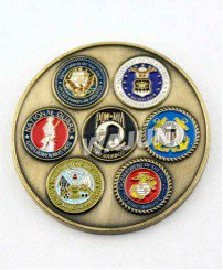 Director of national intelligence FBI challenge coins of usa