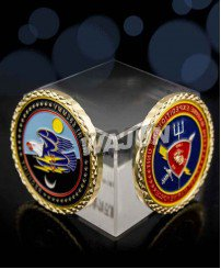Fleet marine force (USMC) military coins