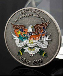 US defence forces promotional Classic custom military challenge coin