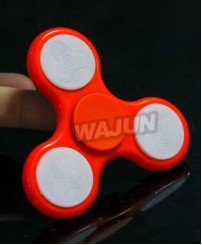 Colorful Precision Balanced Led Lighting Fidget Spinner with High-end R188 Bearing