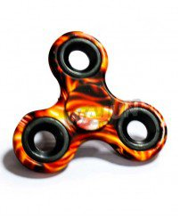 Finger spinner with colorful printing kiddieland spinning tops toys