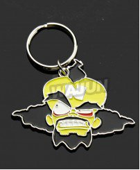 Doctor Neo Cortex metal keychain of Crash Bandicoot games