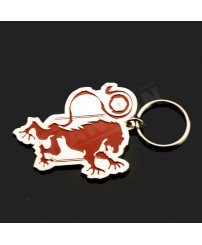Customize metal keychain for chelsea football club souvenir