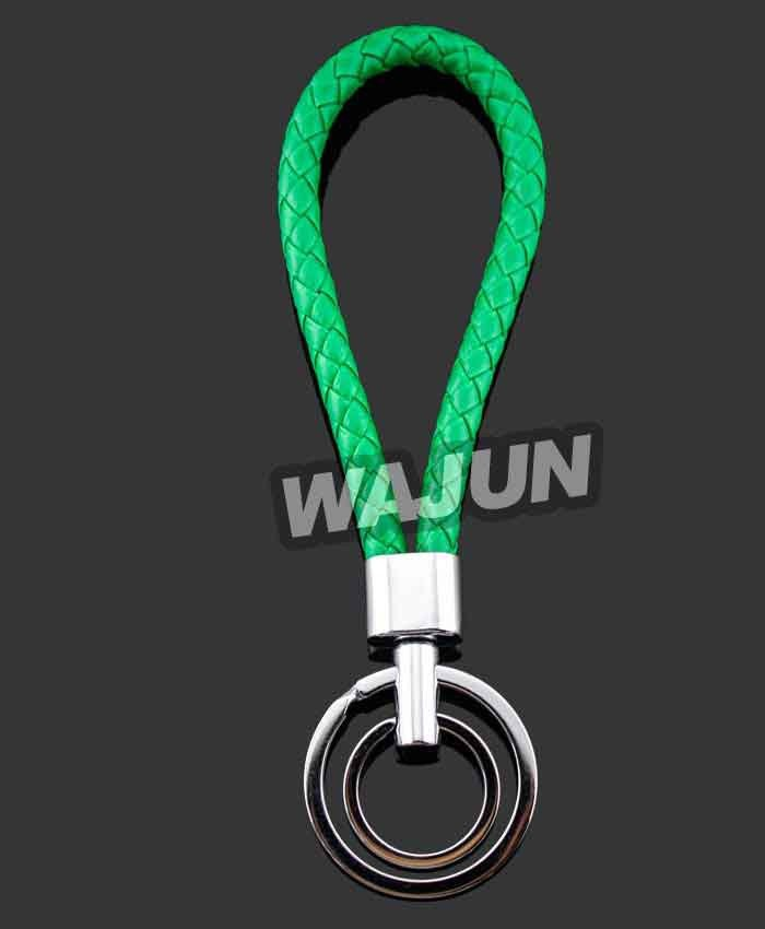 Colorful rope knit keychain for sale