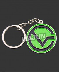 Fashional custom metal zinc alloy keychain