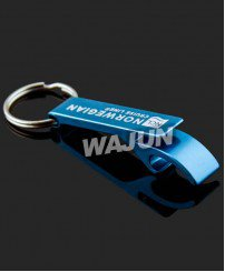Promo gifts screen printing logo Do not fade bottle opener keychain