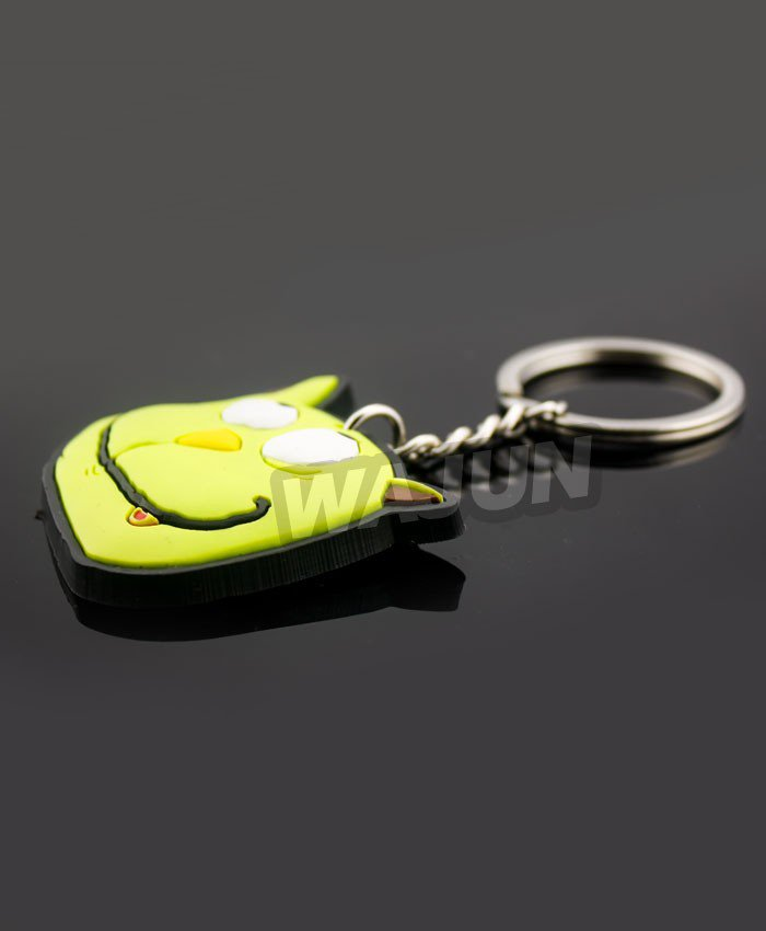 Despicable Me cute funny Minions pvc keychian promotional