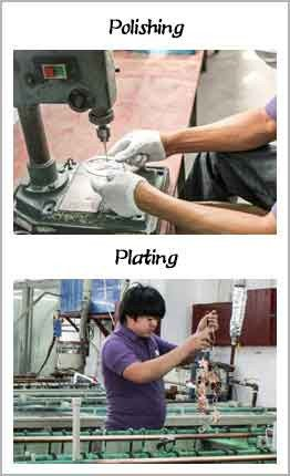 polishing anf plating